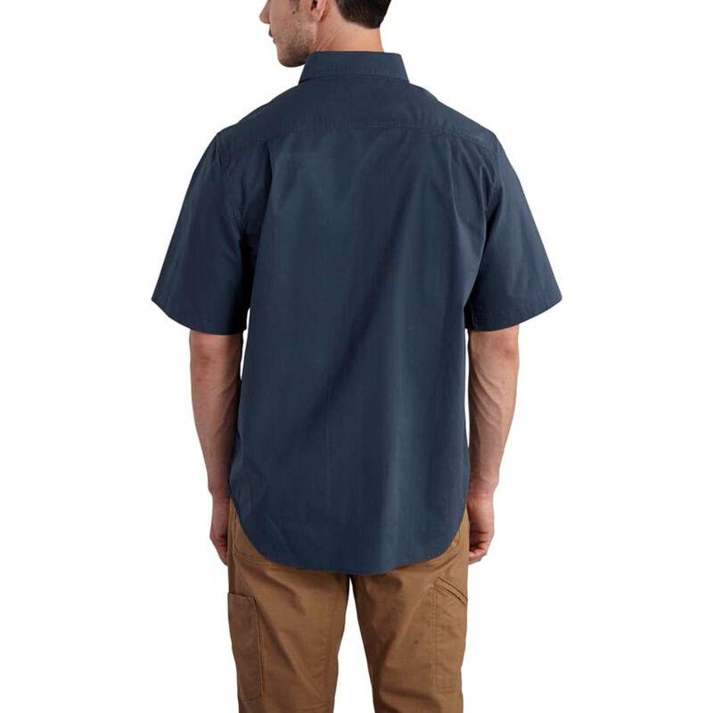 Carhartt Men's Foreman Solid Short-Sleeve Work Shirt image number 3