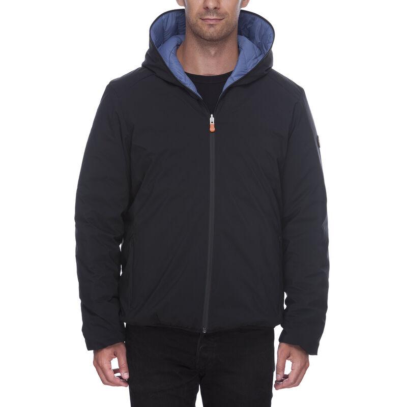 Save The Duck Men's Matt Reversible Full-Zip Jacket image number 3