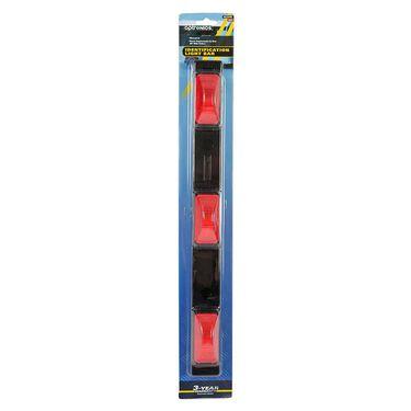"""Waterproof Identification Light Bar; 3 sealed marker lights, 50"""" lead wire"""