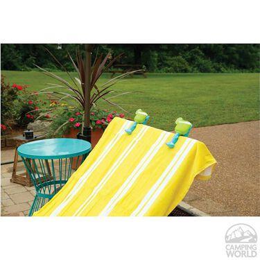 Boca Towel Clips, Set of 2, Margaritas