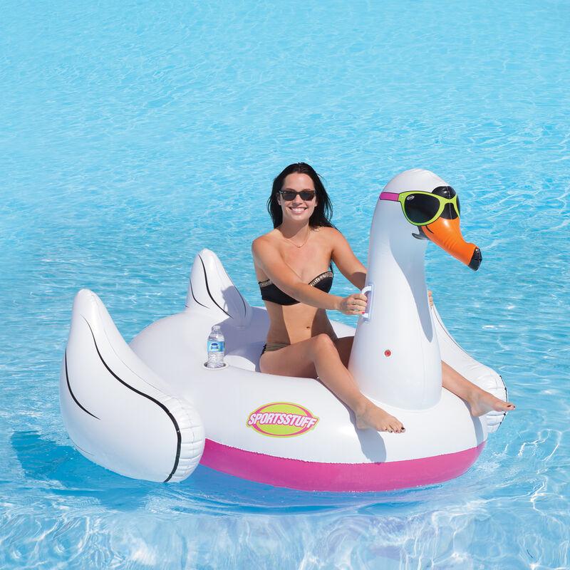 Sportsstuff Cool Swan Pool Float image number 2
