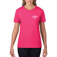 Mossy Oak Women's Short-Sleeve Tee - Hot Pink