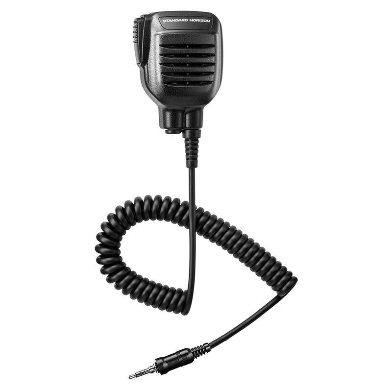 Standard Horizon Submersible Speaker Microphone w/earphone jack image number 1