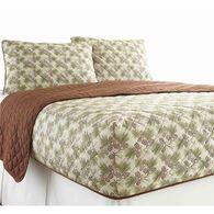 Micro Flannel® RV Bedspread, Short Queen - Pine-cone