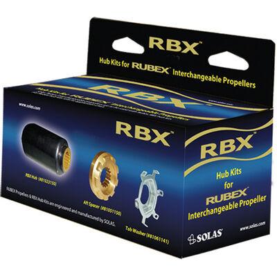 Solas Rubex RBX-102 Propeller Interchangeable Hub Kit For Honda, Yamaha, Mercury Mariner, Force, Mercruiser