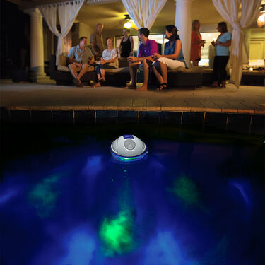 Game Waterproof Bluetooth Speaker With Underwater Light Show