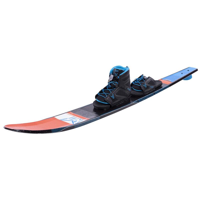 HO Freeride EVO Slalom Waterski With Free-Max Binding And Rear Toe Plate 2019 image number 2