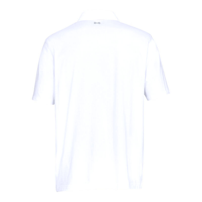 Under Armour Men's Charged Cotton Scramble Polo image number 12