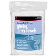 Buffalo Marine Terry Cloth Towels, 6-Pack