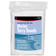 Buffalo Marine Terry Cloth Towels, 6-Pack