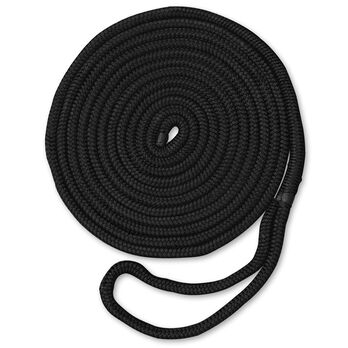 "Dockmate Premium Double Braid Nylon Dock Line, 1/2"" x 20'"