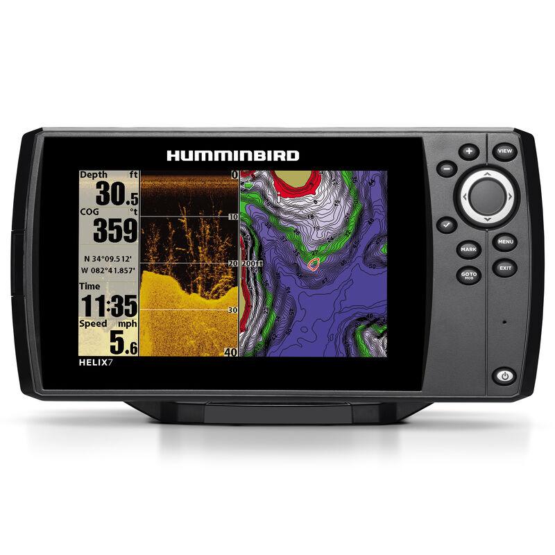 Humminbird Helix 7 DI Fishfinder GPS Combo image number 1