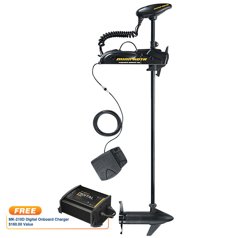 Minn Kota Powerdrive 70 PD V2 Bow-Mount Motor With Free Onboard Charger image number 1