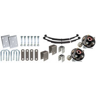 "Tie-Down 1-3/4"" Single Axle Installation Kit With Painted Hub"