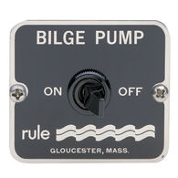 Rule 49 Two-Way Panel Switch For Manual Bilge Pumps