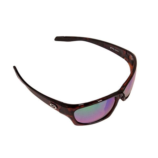 Strike King SK Plus Cypress Sunglasses - Tortoiseshell Frame, Green Mirror Lens