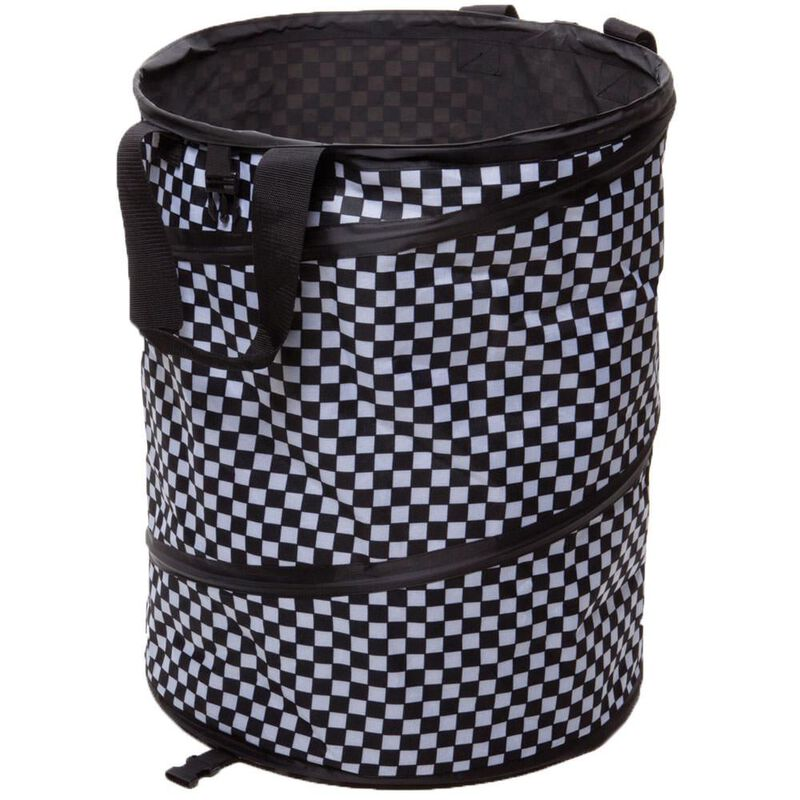 Checkered Flag Collapsible Container image number 1