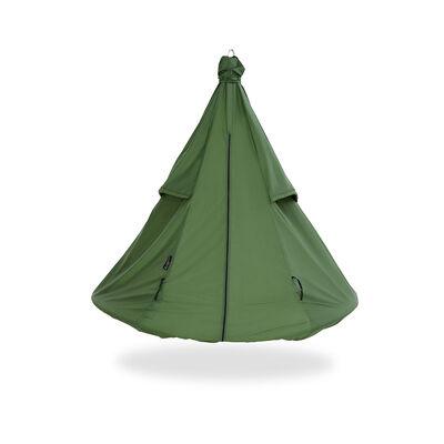 Green Hangout Pod Hammock Weather Cover