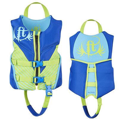 Full Throttle Child Hinged Rapid-Dry Flex-Back Vest