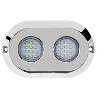 Marine Sport HydroBLAST 2-POD Underwater 120W LED Lighting System, White