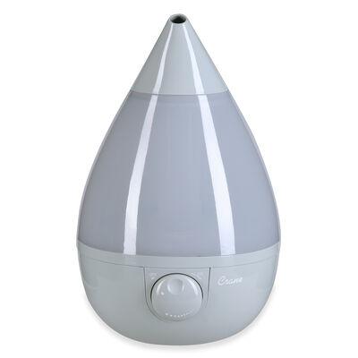 Crane Drop Ultrasonic Cool Mist Humidifier, Gray