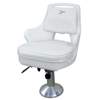 Wise Pilot Chair With Adjustable Pedestal and Slider
