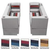 Toonmate Deluxe Pontoon Furniture w/Toe Kick Base - Front Group Package B