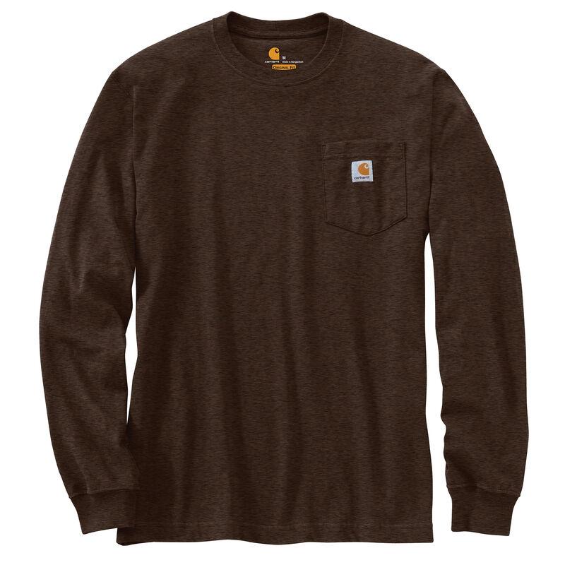 Carhartt Men's Workwear Long-Sleeve Pocket Tee image number 26