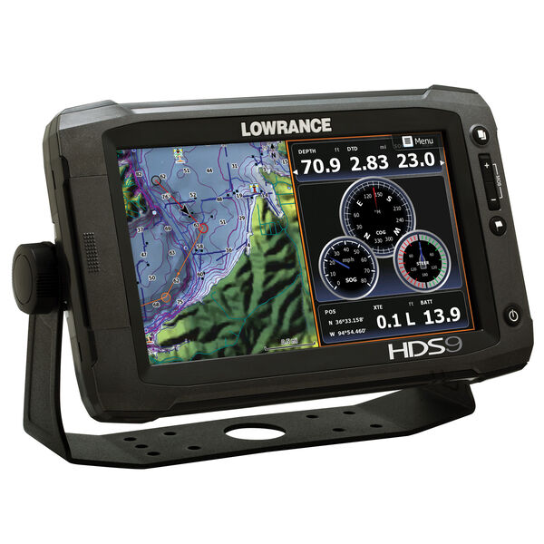 Lowrance HDS-9 Gen2 Touch Fishfinder/Chartplotter, Insight USA (83/200 kHz)