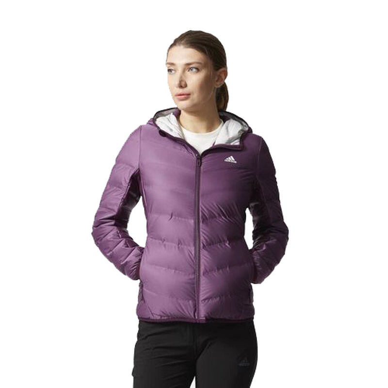 Adidas Women's Nuvic Hooded Down Jacket image number 2