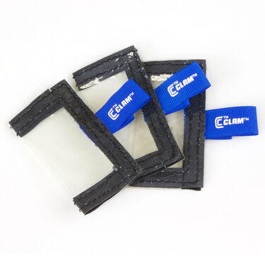 Clam Medium Tackle Pouch, 3-Pack