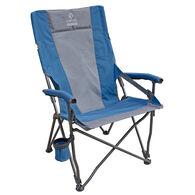 Venture Forward Vortex Lumbar Chair, Blue/Gray