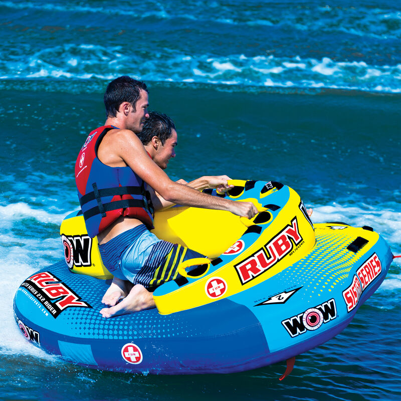 WOW Sister Ruby 2-Person Towable Tube image number 5