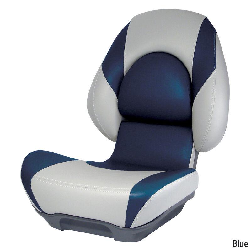 Attwood SAS Centric II Folding Boat Seat, Gray Base image number 1