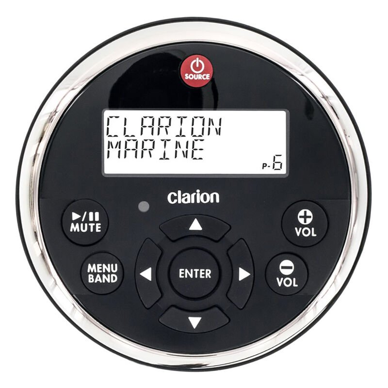 Clarion MW1 Watertight Wired Remote With 2-Line LCD image number 1