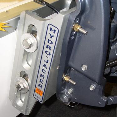 "T-H Marine Hydro-Jacker HS High-Speed Hydraulic Jack Plate, 6"" Setback"