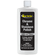 Star Brite Chrome And Stainless Polish, 8 oz.