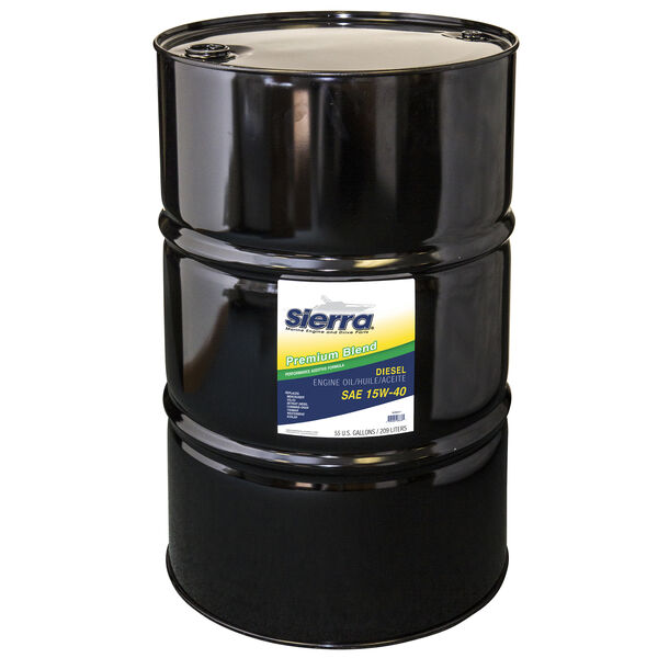 Sierra 15W-40 Diesel Engine Oil For Volvo Engine, Sierra Part #18-9553-7