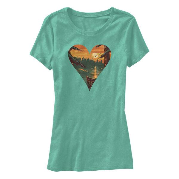 Points North Women's Heart Short-Sleeve Tee