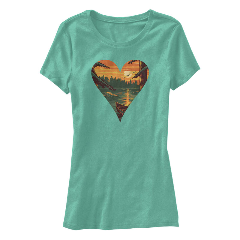 Points North Women's Heart Short-Sleeve Tee image number 1