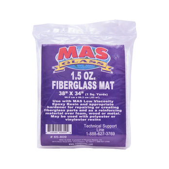 "MAS Epoxies 1.5-oz. Fiberglass Mat, 38"" x 34"""