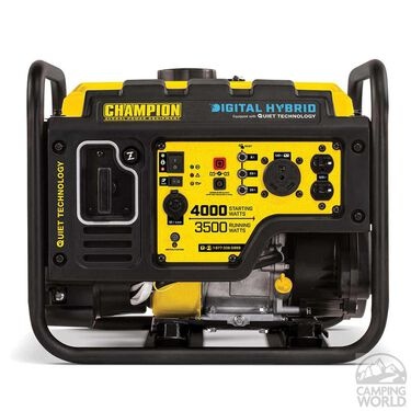 Champion 4000-Watt RV Ready Digital Hybrid Open Frame Inverter with Quiet Technology