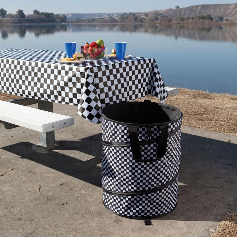 Checkered Flag Collapsible Container image number 3