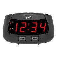 La Crosse Equity LED Dual USB Alarm Clock