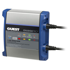 Marinco Guest On-Board Battery Charger, 8A/12V