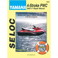 Seloc Outboard Repair Manual For Yamaha/PWC 4-Stroke Engines
