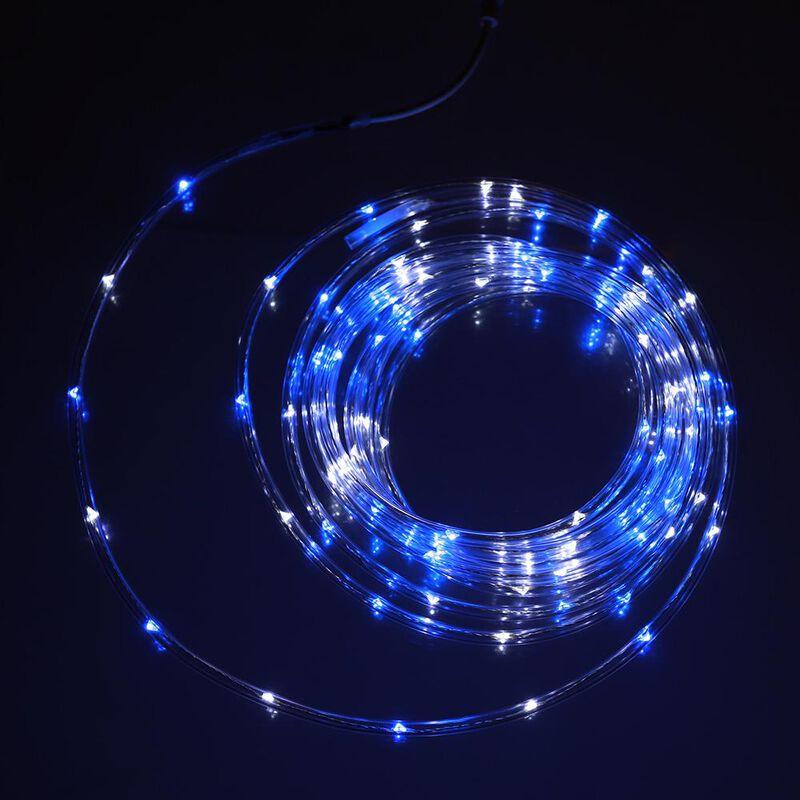 Blue & White Mini Rope Light, 16' image number 2