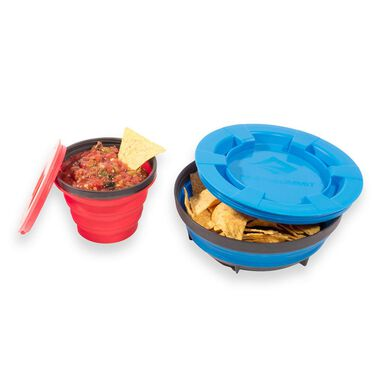 Sea to Summit X-Seal & Go Camp Dinnerware Set, Large