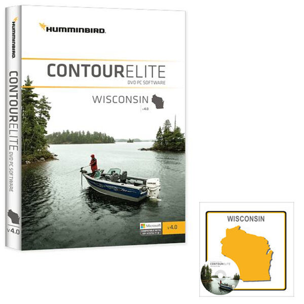 Humminbird Contour Elite Software, Wisconsin