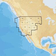 Navionics+ Cartography, West Regions